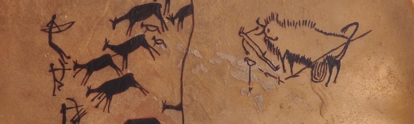 Alte Höhlenzeichnungen unserer Vorfahren