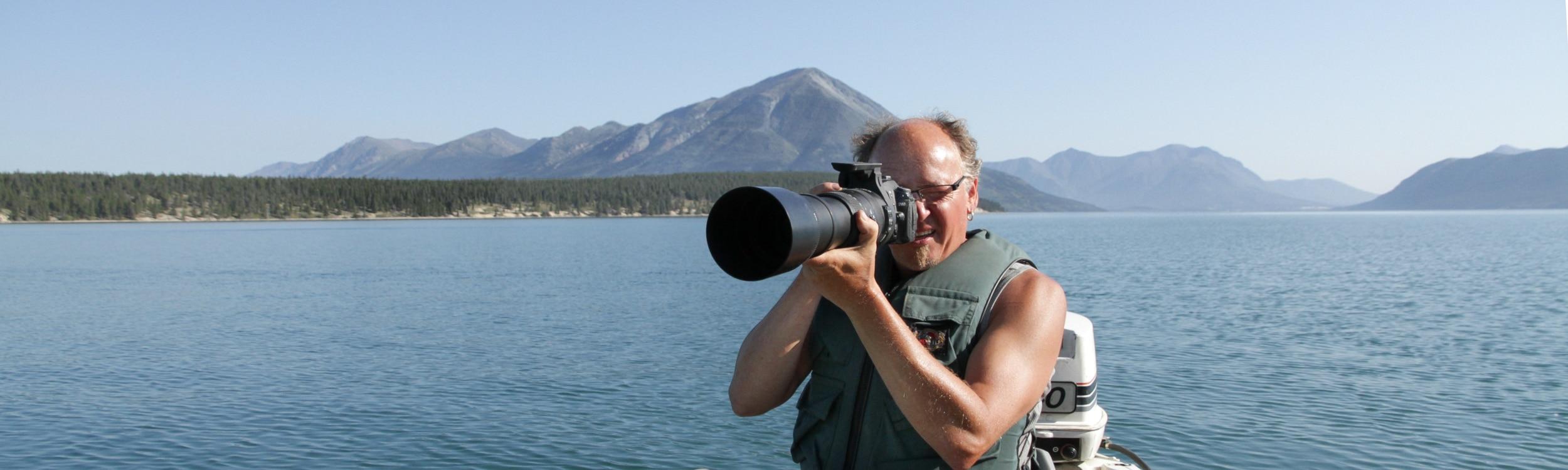 Ralph Müller im Yukon