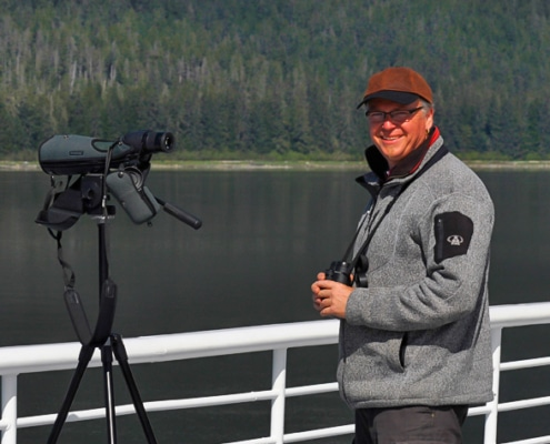 Ralph Müller in Alaska